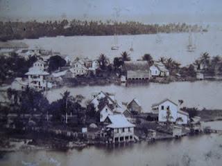 San Andrés Isla: Bahia Hooker en 1940